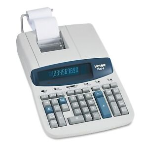 Victor 1530 6 Professional Grade Heavy Duty Commercial Printing Calculator