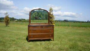 Antique Chest Of Drawers With Mirror Vintage Chest Chest Of Drawers
