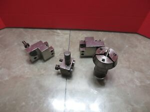 Miyano Cnc 6bc Cnc Lathe Hardinge Tool Arm S l8 Lot Of Tooling Tool Holder