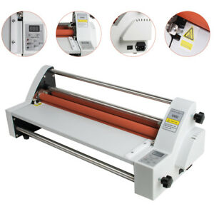 17 Hot Cold Roll Laminator Single dual Sided Laminating Machine 220v 110v New