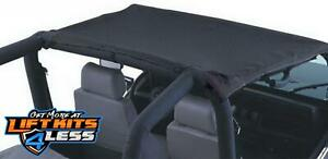 Rampage 90815 California Brief Soft Top For 1987 1991 Jeep Wrangler Yj