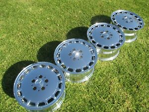 15 New Mercedes Benz 420sl 300d Oem Chrome Wheels 65140