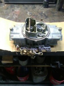 Holley 600 Double Pumper Carburetor 4776 Have Another Matching 4776 To Sale