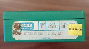 NOS RCBS Carbo Sizer Die for .380acp part 20437
