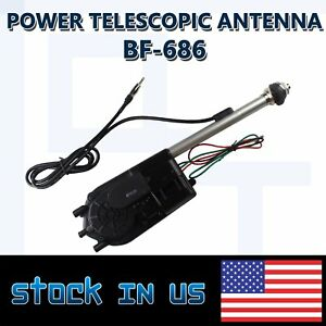 Autos Cars Power Antenna Am Fm Radio Mast Vehicle Electric Replacement 12v