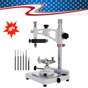 Pro Dental Lab Adjustable Parallel Surveyor W Tools Handpiece Spindle Holder Us
