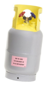 Flame King Refrigerant Recovery Cylinder Tank Reusable Dot Compliant Ysnr301