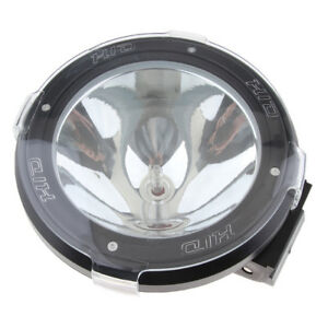 7 100w 12v Hid Xenon Truck Flood Work Light Suv Fog Driving Light Black
