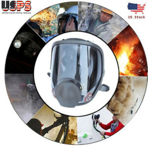 Large Size Full Face Gas Mask Painting Spray Respirator For 6800 Facepiece Usa