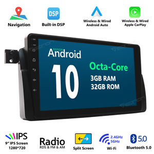 Eonon Android 10 9 Car Radio Gps Can Bus Stereo For Bmw E46 320 330 323 325 M3