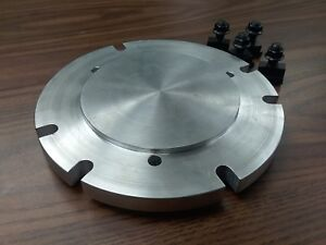 8 Base Adapter Plate Mount Chucks On Rotary Table Or Milling Machine in adp 8