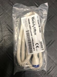 New 9 Ft Welch Allyn 02678 100 Probe Assy Kit Lathg Conn Oral Thermometers
