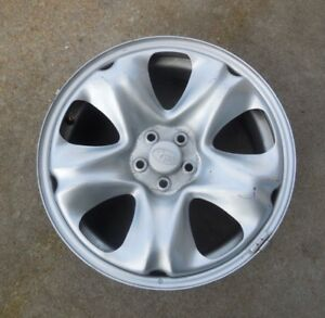 17 2014 15 16 17 Subaru Forester 5 Spoke Styled Silver Steel Wheel Rim