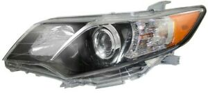 New Blk Depo Headlight For 2012 2014 Toyota Camry Se Driver Side 8115006800