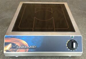 Garland Sh ba 5000 Countertop 3ph 208v 5000 Watt Induction Range Burner