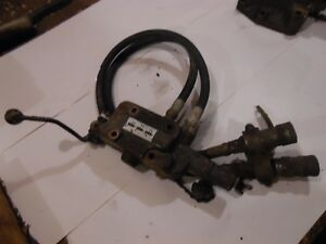 1972 David Brown 990 Diesel Farm Tractor Auxiliary Hydraulic Valve