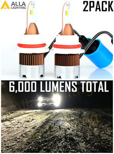 Allalighting Copper Led Pure White 9007 Headlight Bulb Replacement High Low Beam