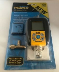 Fieldpiece Svg3 Digital Micron Vacuum Gauge replaces Svg2 Easy View