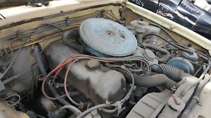 80 Nissan Datsun Pickup Engine With Standard Transmission Complete Lift Out
