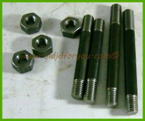 R2622r B359r A126r john Deere B Br Bo Manifold Stud Kit W Heavy Nuts Unstyled