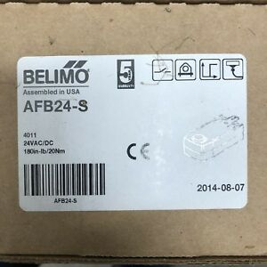 Belimo Afb24 s Electric Damper Actuator