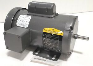 New Baldor L3409 50 Ac Electric Motor 5hp 1 2hp 220v 110v 1425rpm 48 Frame