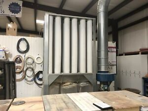 Nederman S 1000 10 Hp 4 000 5 000 Cfm Dust Collector
