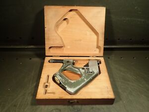 Federal 1330p 101 p2 1 2 Snap Gauge W Testmaster 0001 Dial Indicator