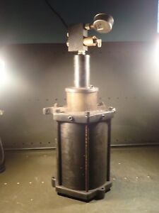 Jergens Hydraulic High Pressure Volume Booster With Pilot Operated Check Valves