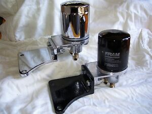 Spin on Oil Filter System Universal Fit