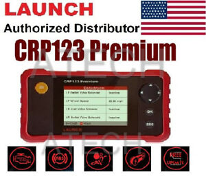 Launch X431 Crp123 Premiumobd2 Diagnostic Tool Auto Scanner Engine Trans Abs Srs