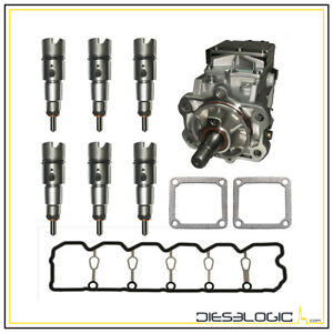 1998 2002 Dodge Cummins 5 9l 24 Valve Fuel Injector Super Set Deluxe
