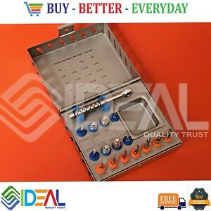 Dental Implant Surgical Drill Kit drills ratchet Wrench Instruments