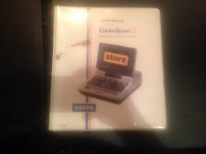 Storz Compuscan Lt Owner s Manual For Ophthalmic A Scan