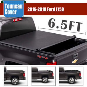 16 2018 Fit Ford F 150 Oem Ford Parts Soft Roll up Tonneau Bed Cover 6 5 ft