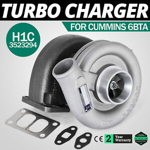 Top H1c Diesel Turbo Charger Fits Oem 3523294 Bolt On For Dodge Ram Cool