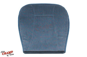 1995 Ford Bronco Xlt Driver Side Bottom Replacement Cloth Seat Cover Lapis Blue
