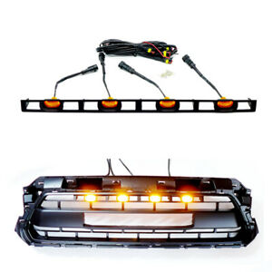 Grille Amber Led Lights Front Bumper Grill Leds For Toyota Tacoma 2012 2015 4pc