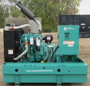 80 Kw Cummins Onan Diesel Generator Genset Load Bank Tested Tier 3