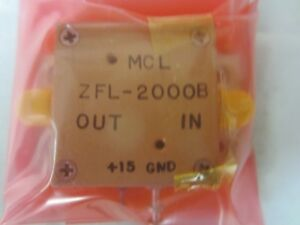 Zfl 2000b Amplifier 20db 10 2000mhz Med Pwr Nf 7 Quantity 6