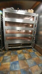 Miwe Condo Electric 4 Deck Oven For Artisan Bread