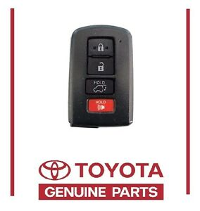 Genuine 14 16 Toyota Highlander Smart Remote Uncut Key 89904 0e121