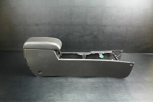 08 09 Ford Fusion Mercury Milan Floor Center Console Storage Black Factory Oem