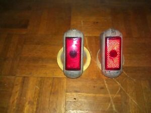 Buick 1940 S Rear Taillight S Pair Of Siglo Stimsonite