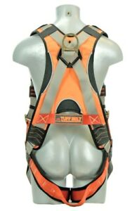 Madaco Safety Products Ctb201a16nbblu Full Body Industial Saftey Harness 6ft