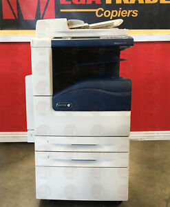 Xerox Workcentre 7225 Color Laser Mfp Printer Copier Scanner A3 A4 25 Ppm 7220