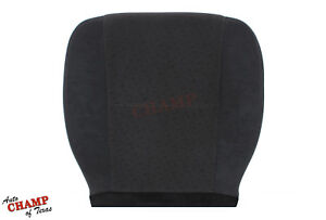 2007 Chevy Suburban Ls Lt driver Side Bottom Replacement Cloth Seat Cover Black