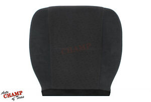 2008 Chevy Suburban Lt Ls driver Side Bottom Replacement Cloth Seat Cover Black