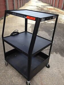 3 Tier Av Mobile Utility Cart