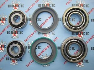1957 1960 Buick Front Inner Outer Wheel Bearings With Seals Replacement Kit